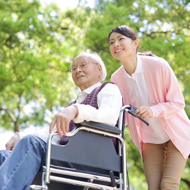 高齢者をサポートする仕事